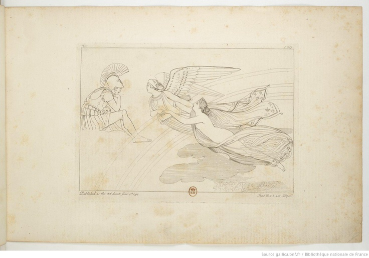 Engravings based upon Homer's Illiad 1793. The Iliad of Homer / engraved by Thomas Piroli, from the ; from the composition of John Flaxman, sculptor