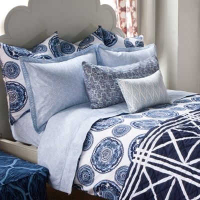 my bedding from John Robshaw.:  Comforter, Boys Rooms, Big Boys, Hampton House, Layered Beds, Bombay Beds, Boys Beds, Beds Collection, Beds Sets