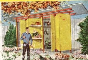 Growing Season – Plans for a Mid-Century Modern Garden Shed