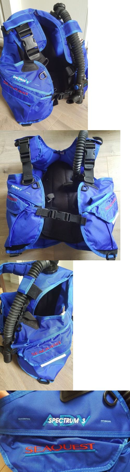 Buoyancy Compensators 16053: Scuba Bcd Seaquest Sprectrum 3 Adv Size M Nwot! -> BUY IT NOW ONLY: $65 on eBay!