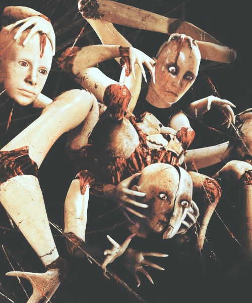 silent hill... my fave monster, manniquins creep me out anyway!!!