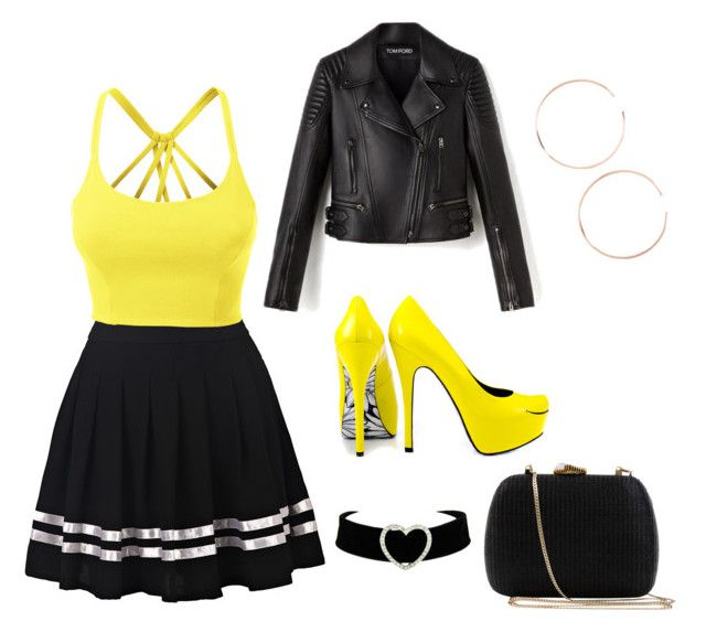 #Smile by angel1324 on Polyvore featuring polyvore, moda, style, LE3NO, TaylorSays, Serpui, Anita Ko, fashion and clothing