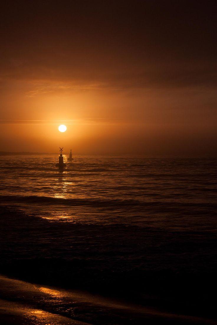 Port Nolloth - West Coast, South Africa, Port Nolloth, Sun Set