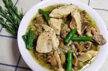 Фрикасе из курицы - рецепты с фото. Как приготовить куриное фрикасе с овощами или грибами пошагово