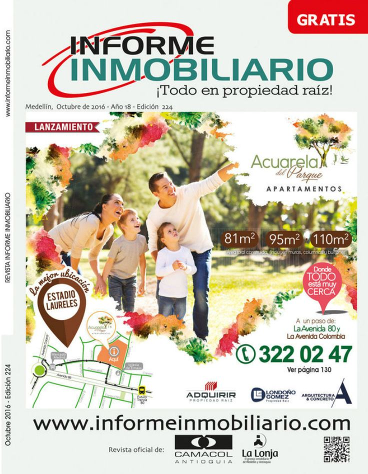 Revista Informe Inmobiliario, edición 224, Octubre de 2016