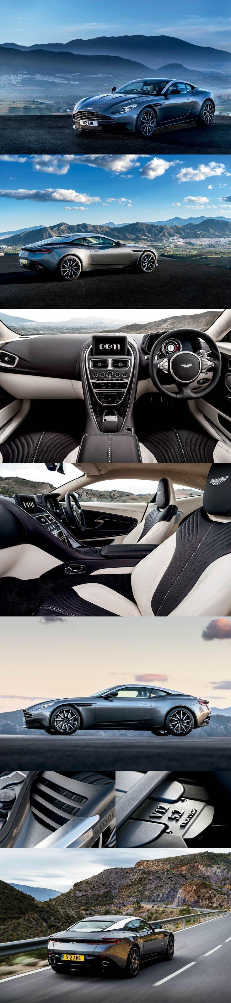 Aston Martin DB11: The Way Forward for the British Marque… #2017 #supercar