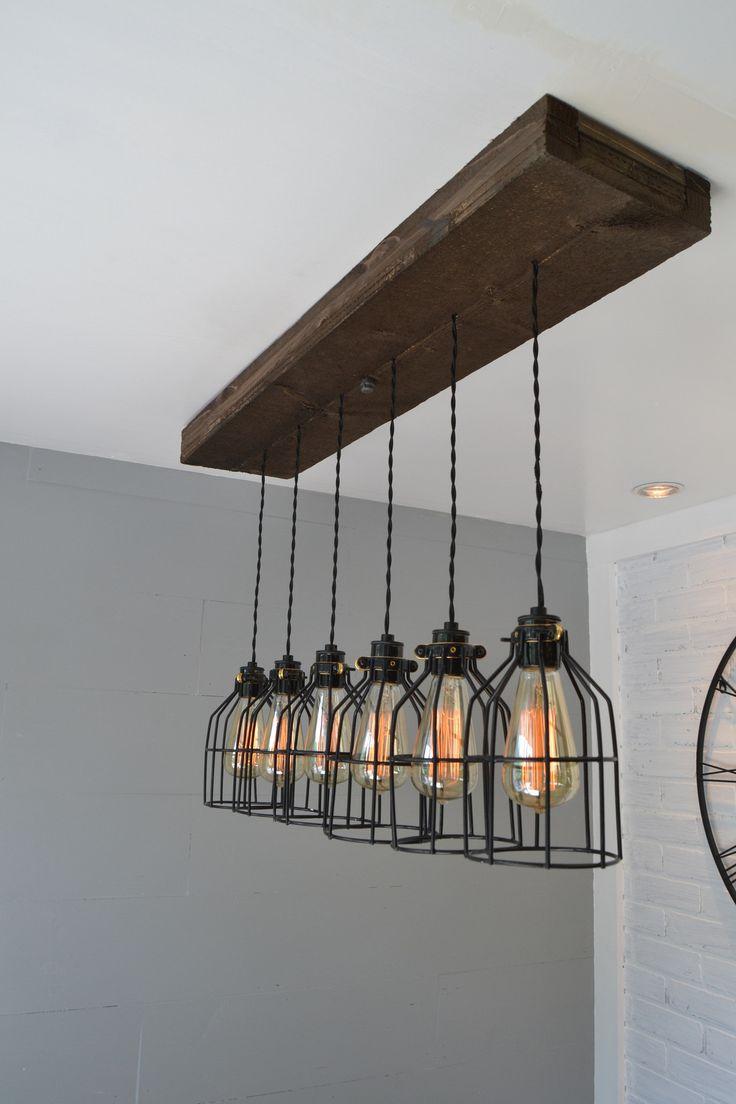 6-Light Kitchen Island Pendant