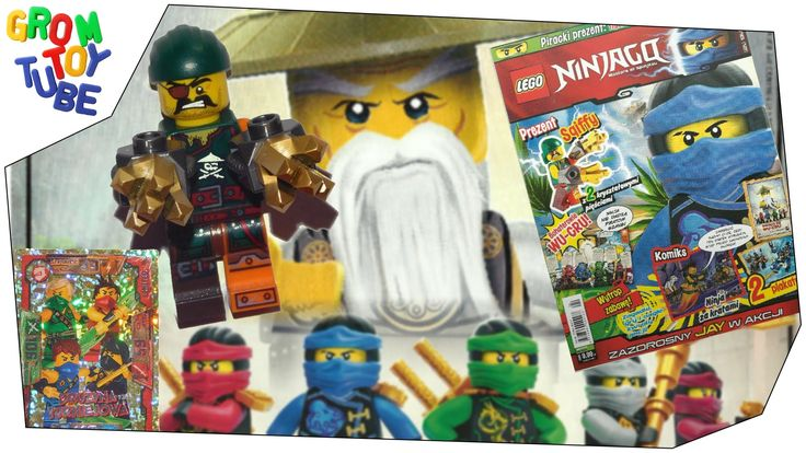 UNBOXING NEW LEGO NINJAGO MAGAZINE 4 2016 WITH PIRATE MINIFIGURE