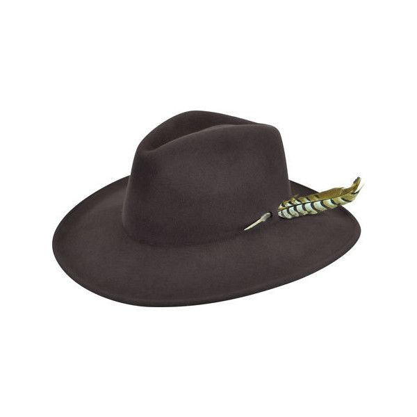 Men's RENEGADE by Bailey Western Calico Cowboy Hat - Fall Brown ($80) ❤ liked on Polyvore featuring men's fashion, men's accessories, men's hats, brown, mens wide brim hats, mens cowboy hats, mens western hats and mens hats