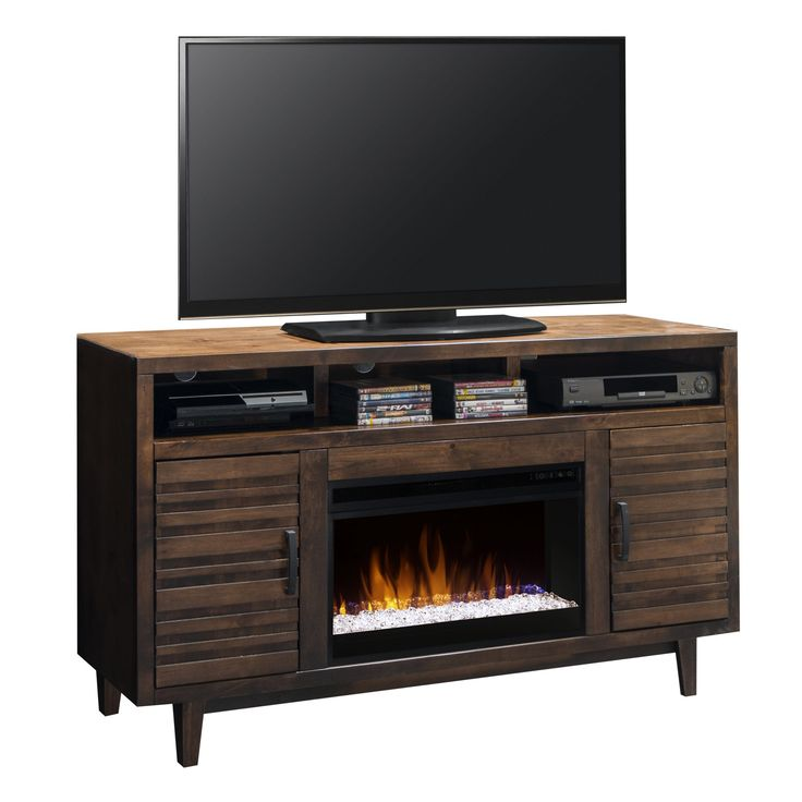 Legends Furniture Glendale 62 in. Electric Media Fireplace - GN5201.WKY