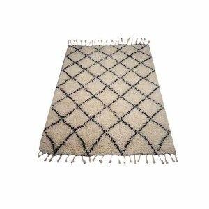 Teppich Berber Shaggy Wool 200×300