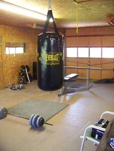 Garage gym pictures are expected to be overly simplistic