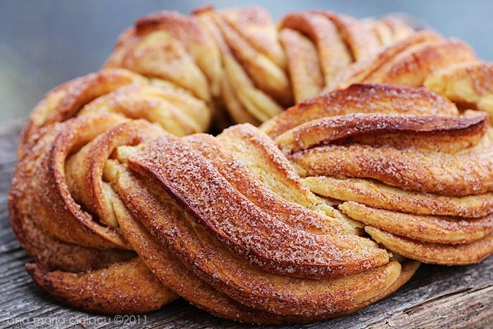 beautiful cinnamon bread...