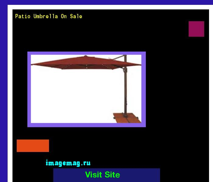 Patio Umbrella On Sale 151805 - The Best Image Search