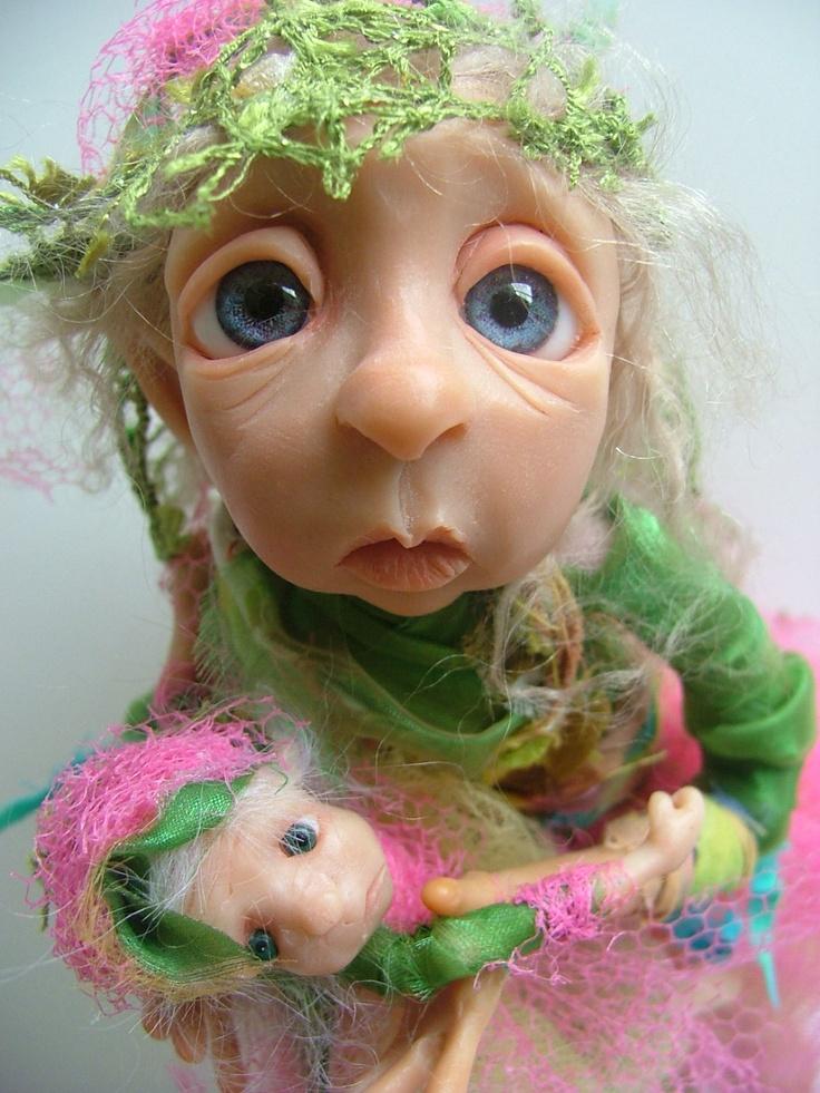 one of a kind dolls By DinkyDarlings
