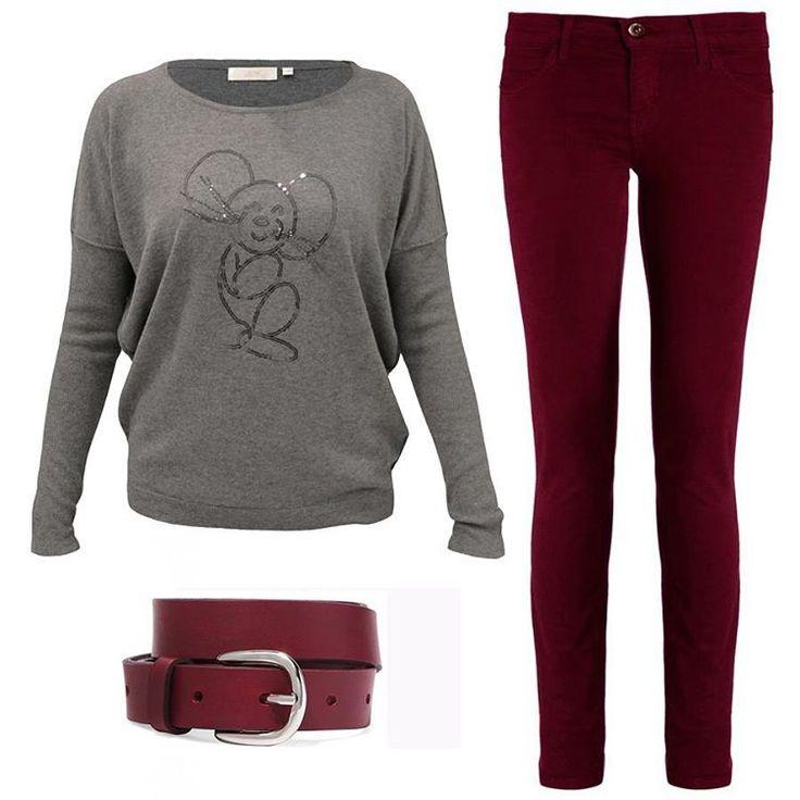 Дополнительная скидка 20% на этот свитер Jeff из шерсти мериноса с добавлением кашемира и шелка, а также бордовые джинсы DL1961 к уже существующим скидкам до 60% - весомый аргумент «ЗА». Загляните к нам в JiST обновить гардероб по самым низким ценам. #fashion #winter #outfitidea: #stylish #DL1961 #jeans & #trendy #sweater help to create #chic & #warm #outfit #мода #стиль #тренды #джинсы #свитер #модно #стильно #киев #распродажа #скидки