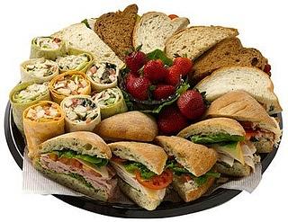 SGC Sandwich Platter by Saint Germain Catering, via Flickr