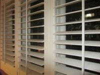 Basswood 89mm Plantation Shutters in a house in Yarraville