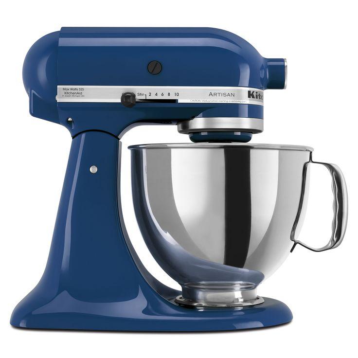 KitchenAid KSM150PSBW Blue Willow 5-quart Artisan Tilt-Head Stand Mixer (Metal)