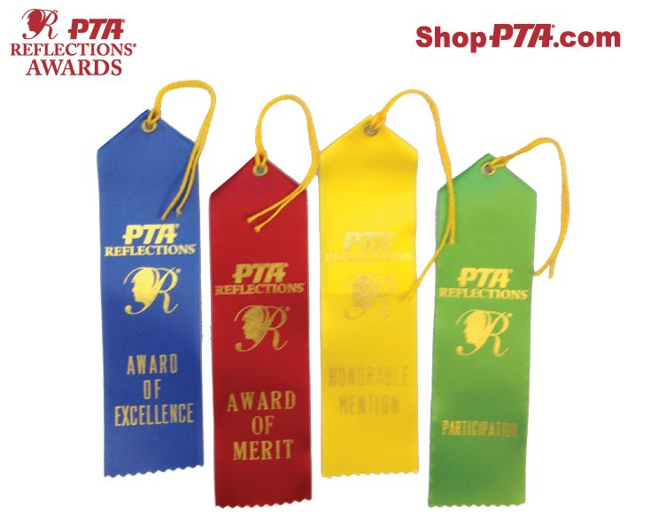 65 satin award ribbon with gold foil stamp of pta reflections b6c987bac981368f7d15895041dabbef pta reflections school stuffg yadclub Gallery