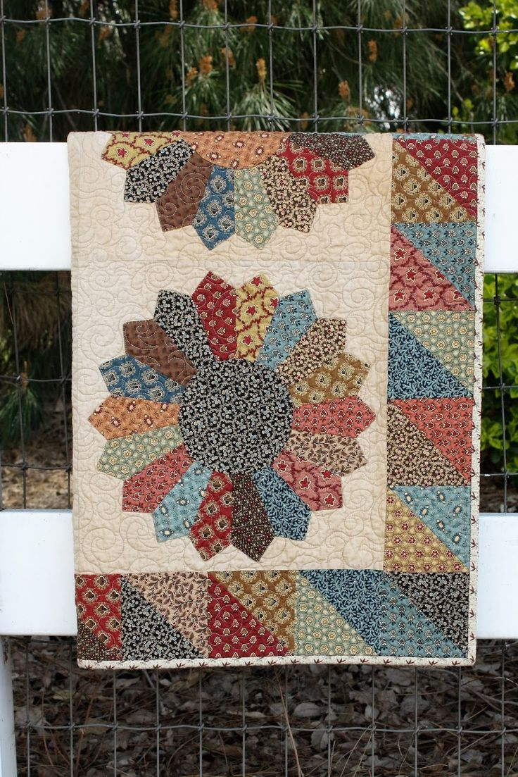 "We have a few kits for this fun 30's Dresden Plate. It is the perfect May Day Quilt. Finished Quilt | 36"" x 36"" If you woul..."