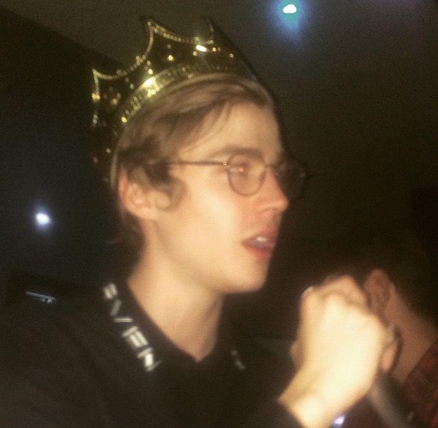 He's my king
