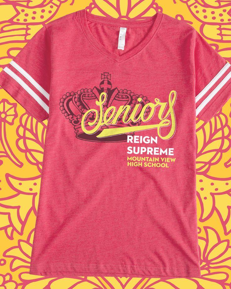 27 best school spirit images on pinterest custom shirts for Custom high school shirts