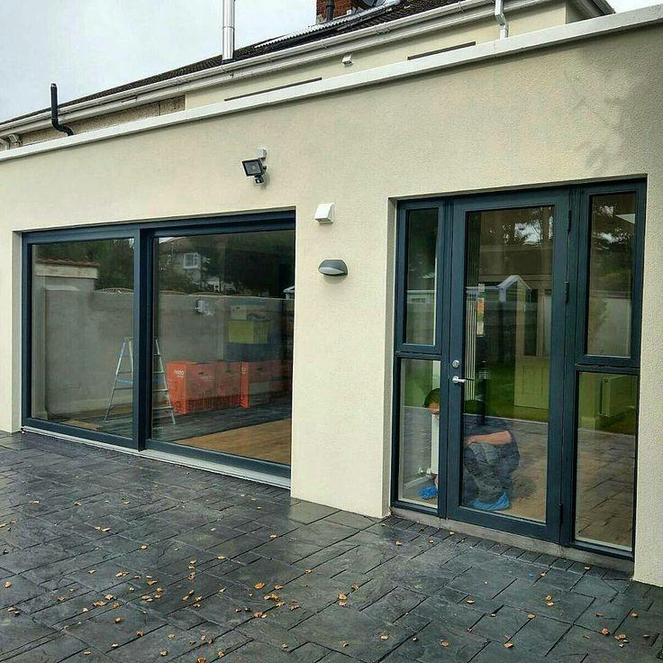 Modern triple glazed Aluclad windows and doors installed in Palmerstown this week.