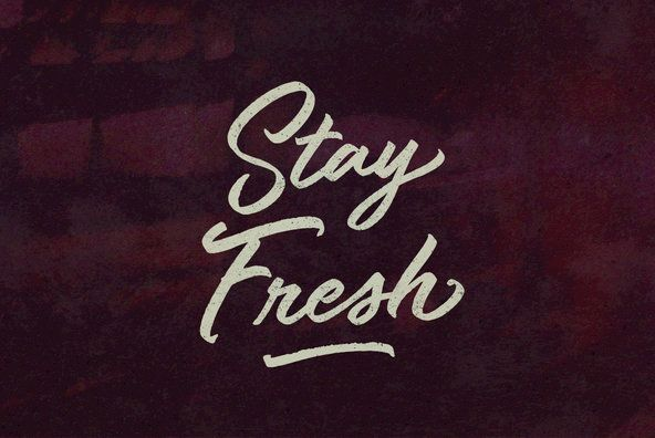 Stay Fresh By BLKBK on YouWorkForThem.
