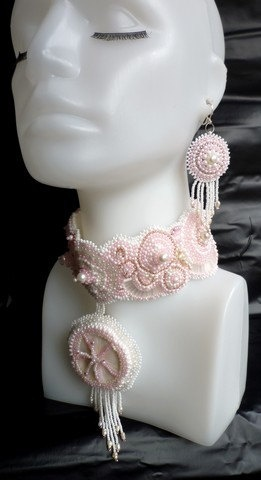 Wedding jewellery set by wandadesign on Etsy, €125.00