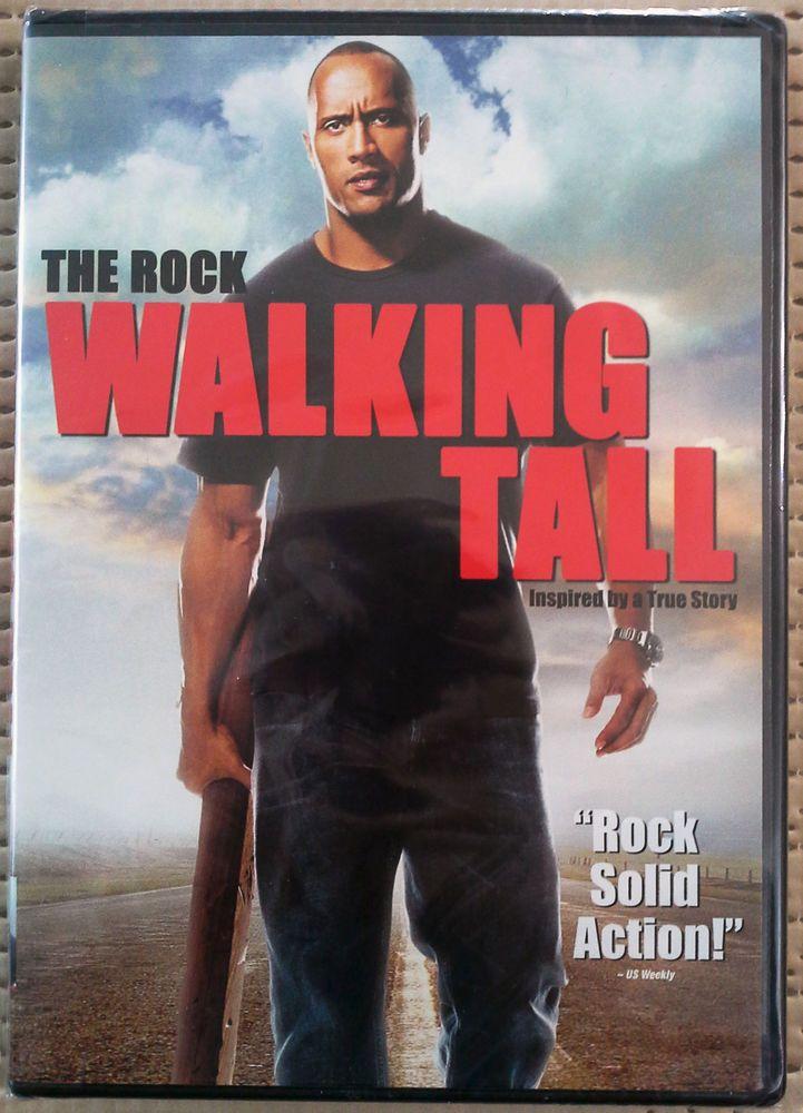 WALKING TALL DVD: 1 2011 PG-13 WS DWAYNE JOHNSON ACTION CRIME NEW