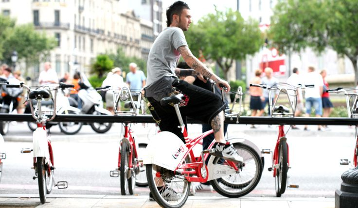 Renting a bike is a great way to get to know the city