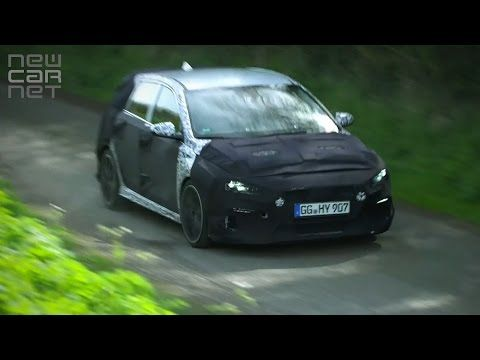 #VIDEO: #Hyundai tests new #i30N hot hatch on Britain's roads