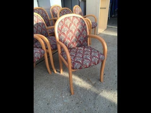 Used Englender Armchairs   Quality Solid Beech Frame Chairs · Business  FurnitureArmchairs