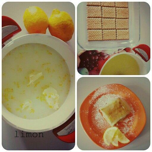 Limonlu pasta