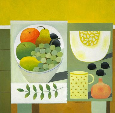 Still Life with Fruit II by Reg Cartwright