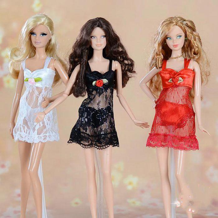 Одежда для кукол Барби и Монстр Хай своими руками, идеи с ...