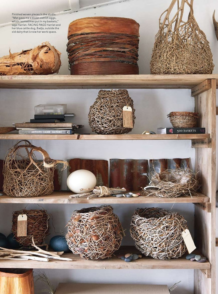 Woven Baskets by Harriet Goodall