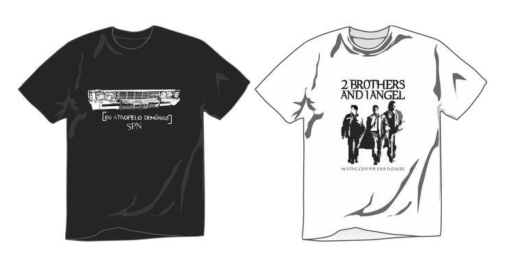 Camisetas promocionais - Supernatural