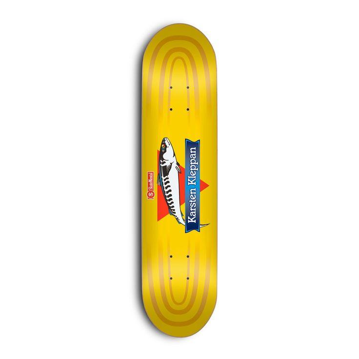 """Skate Mental - Karsten Kleppan Canned Fish 8.06"""" - Multi"""