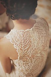 Such amazing delicate, organic lace on this wedding dress. Wedding Inspiration and social media at Emma Hunt London X