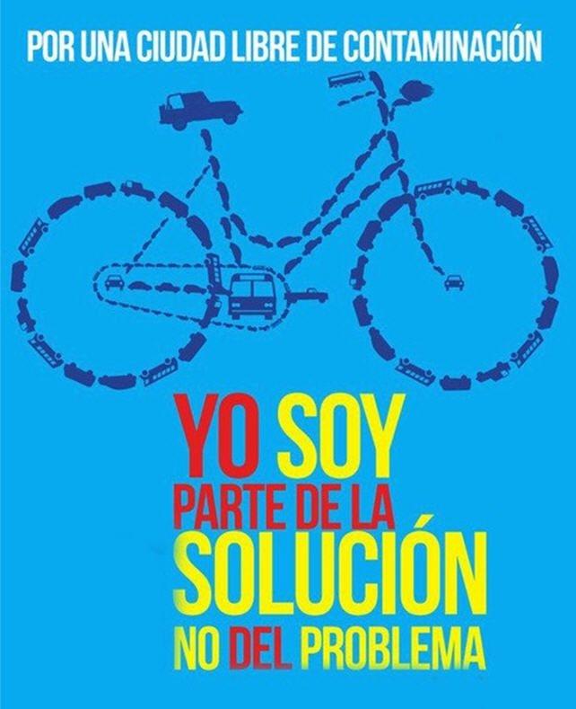 Yo soy parte de la Solución, NO del problema. Por una ciudad libre de contaminación