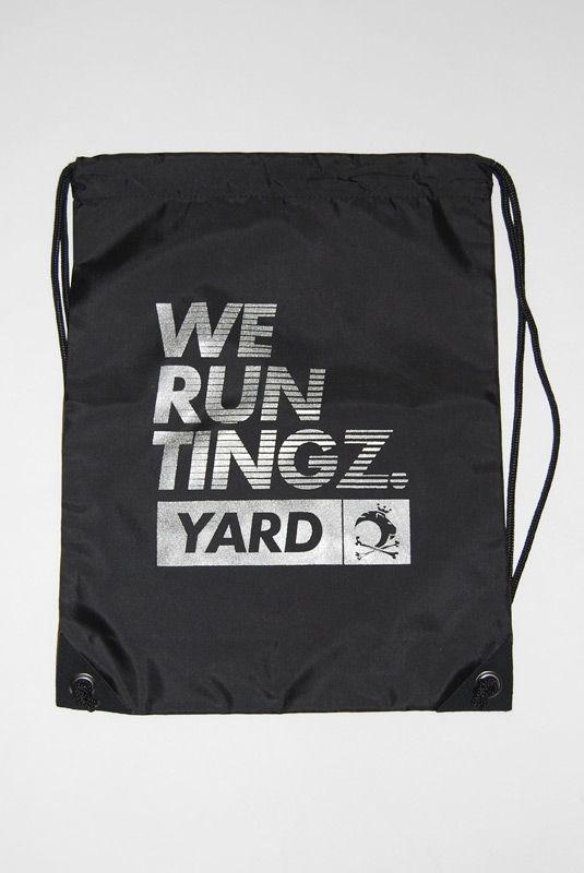 YARD BEACH BAG, black