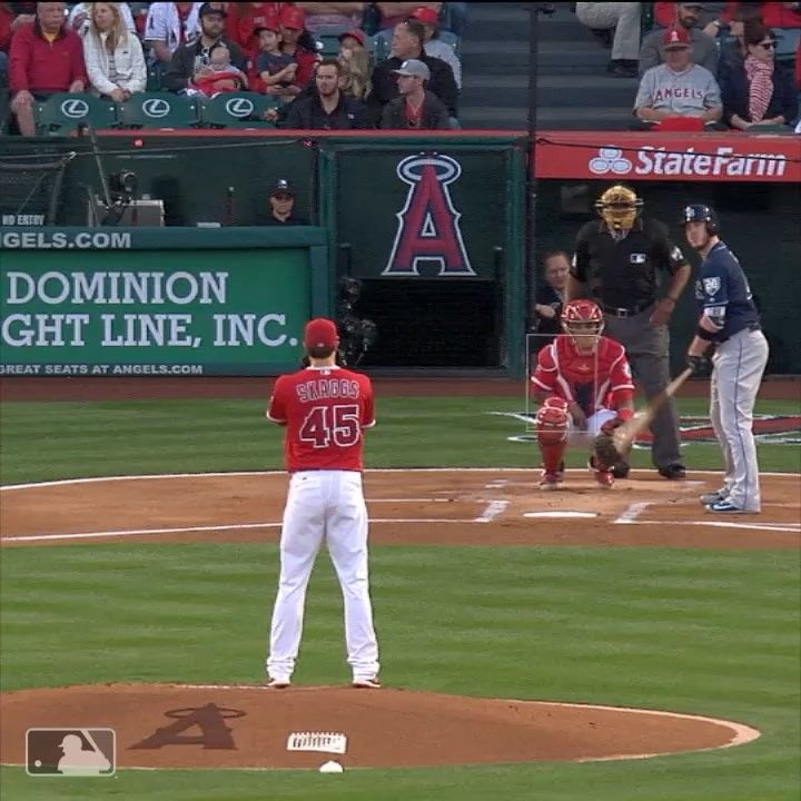 Getting In A Groove Tskaggs45 Struck Out Seven Batters In His Second Consecutive Quality Start Los Angeles Angels Baseball Field Los Angeles