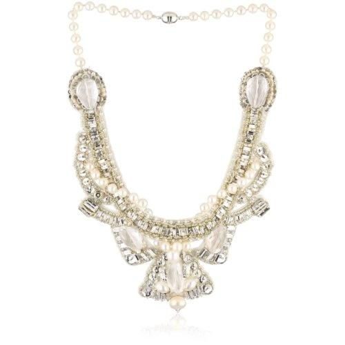 "Ranjana Khan ""Deco Bride"" Bride Statement Necklace: Jewelry: Amazon.com"