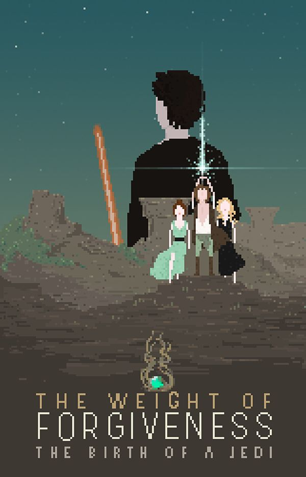 The Weight of Forgiveness - pixel art - Tazzina