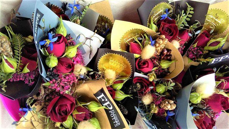 flowerpotts.co.nz Roses Miniature Bouquet Cute