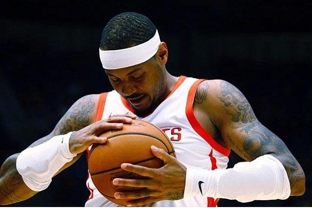Herzlichen Glückwunsch an Carmelo Anthony   – dunk