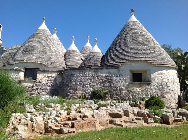 """Nicoletta's stand out home in Puglia Italy definitely fits into our category of """"not your average homestay."""""""
