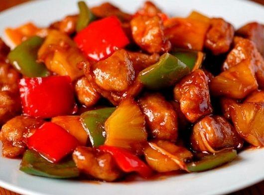 Свинина в кисло-сладком соусе - рецепты - Как правильно готовить